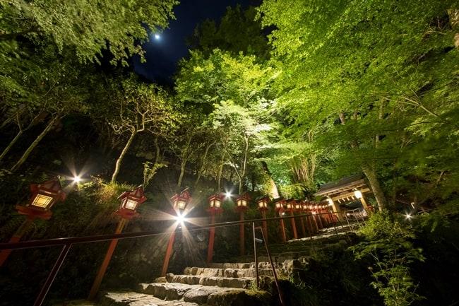 貴船神社庭園