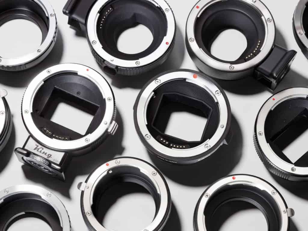鏡頭卡口適配器