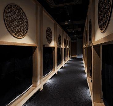 capsule hotel in shibuya