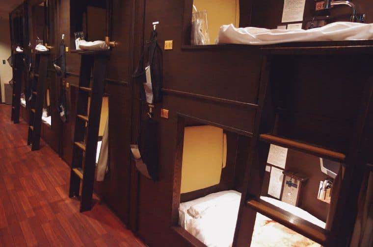 コエドカプセルホテル東京
