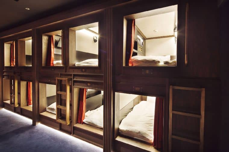 カプセルホテル東京