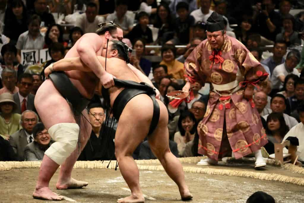 Sumo tournament 2020 tokyo