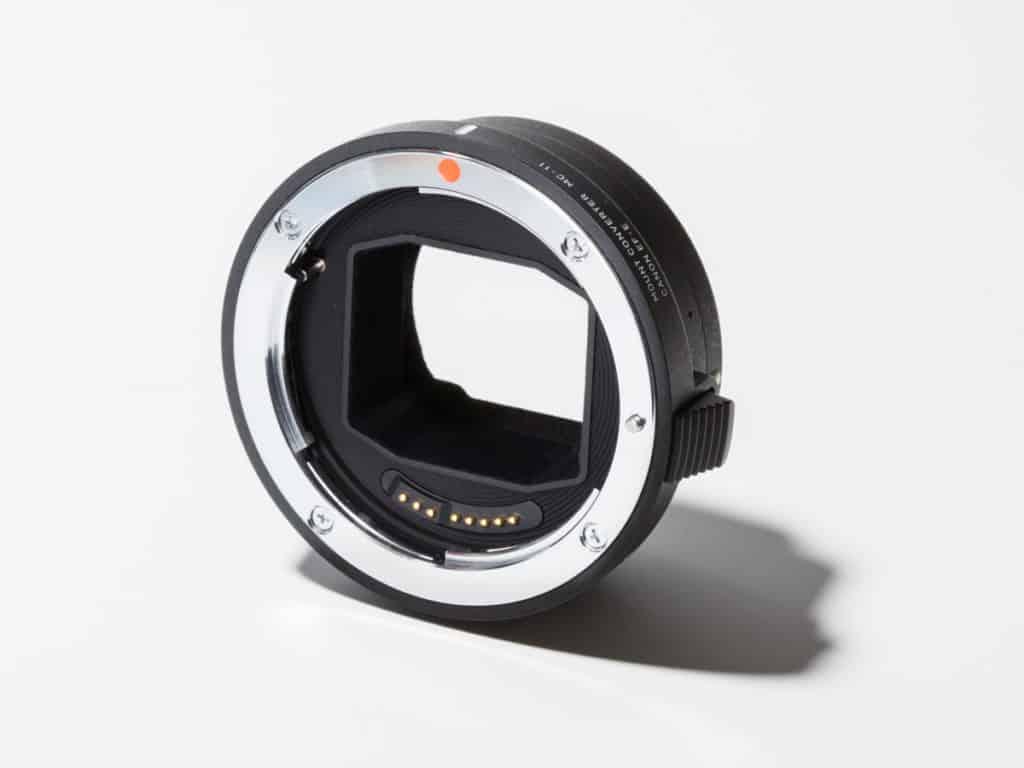 適用於舊佳能鏡頭的佳能鏡頭適配器