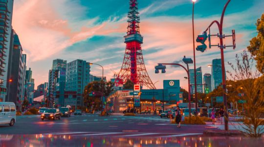 東京の旅程 3日間