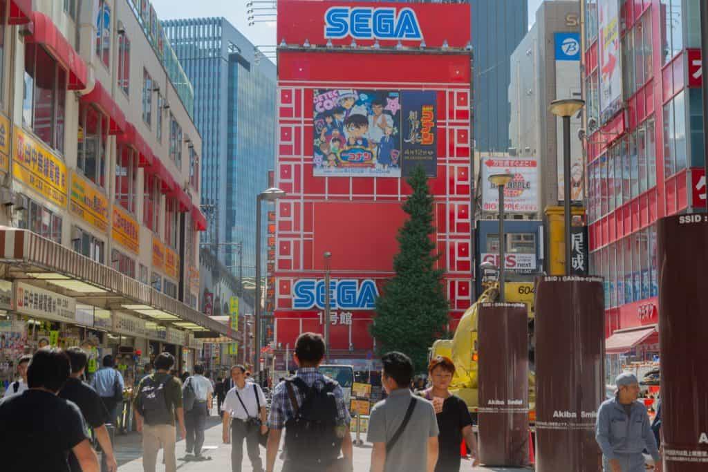 Harajuku to shibuya