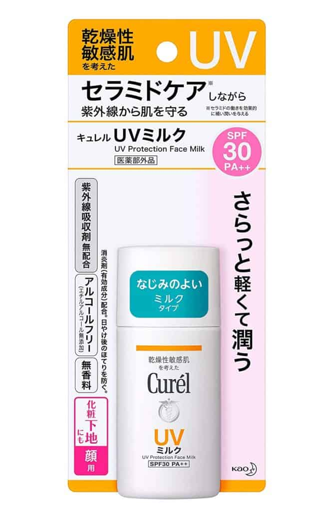 alcohol-free japanese sunscreen