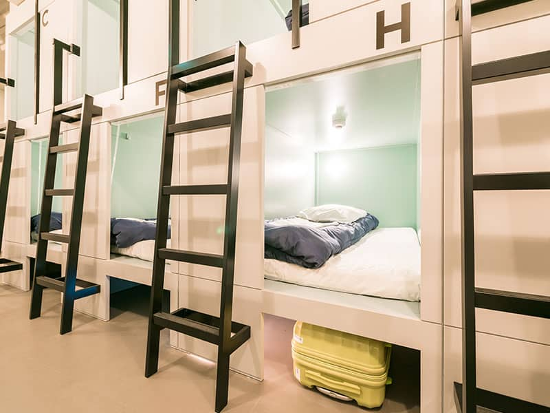 and hostel minamisenju