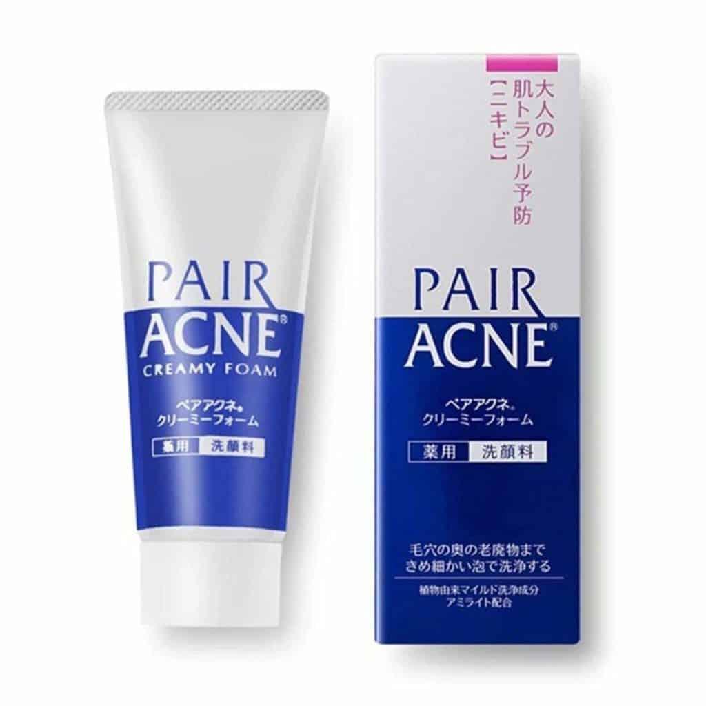 dhc pore face wash