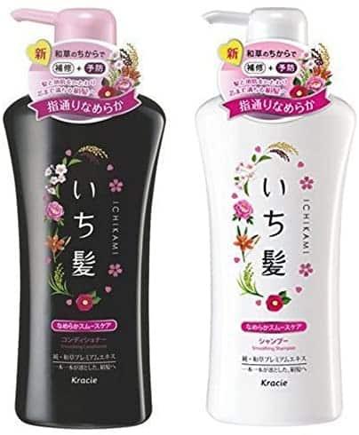 Japanese shampoo Shiseido