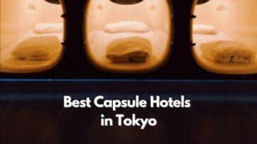 東京で最高のカプセルホテル