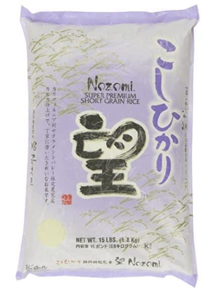 rice in japan