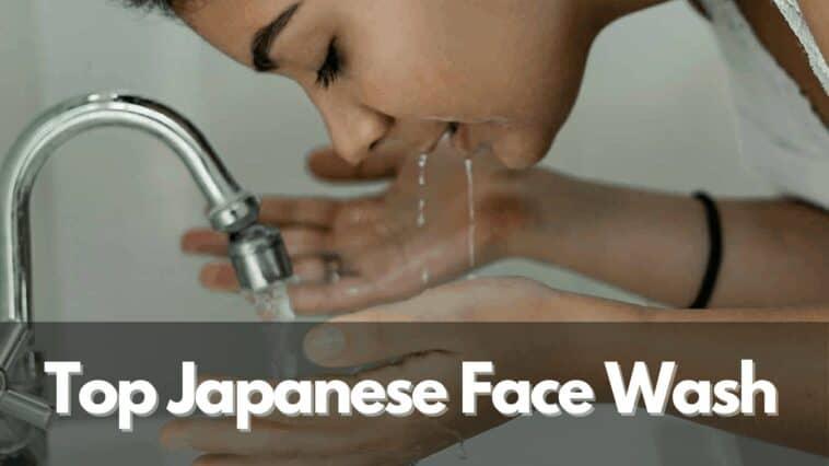 best Japanese face wash 1
