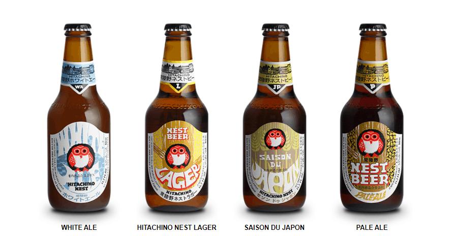 Japanese buckwheat beer