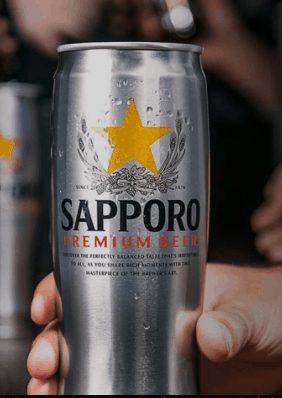 Sapporo beer Japan