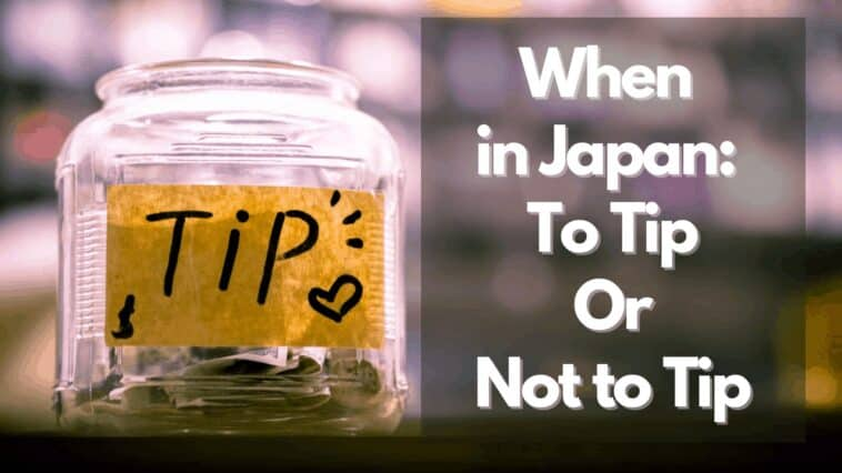 tipping in japan