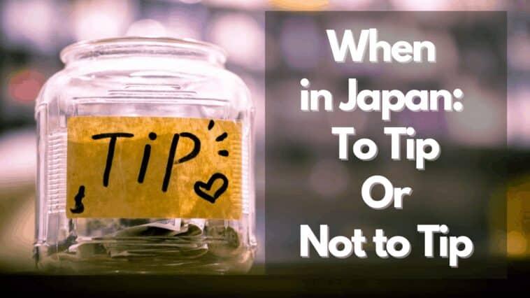 日本でのチップ