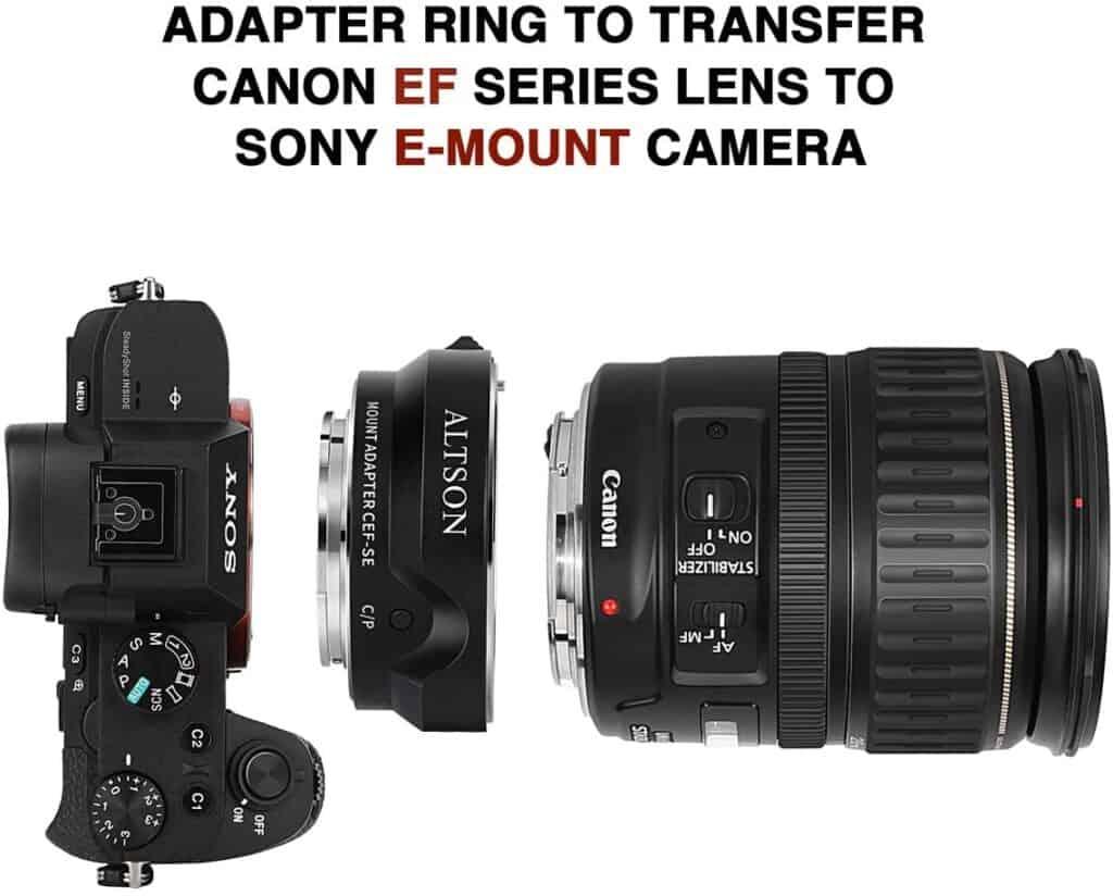最好的鏡頭卡口適配器
