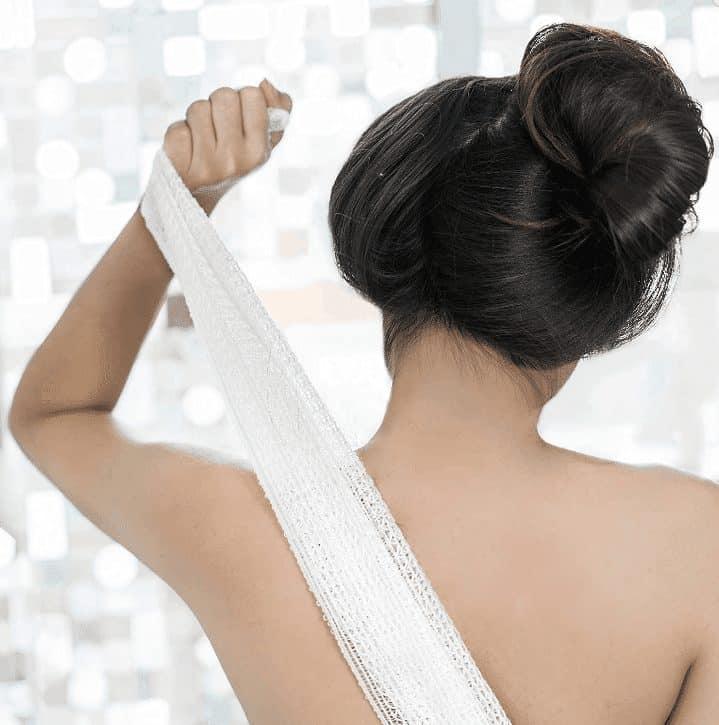 japanese exfoliating cloth