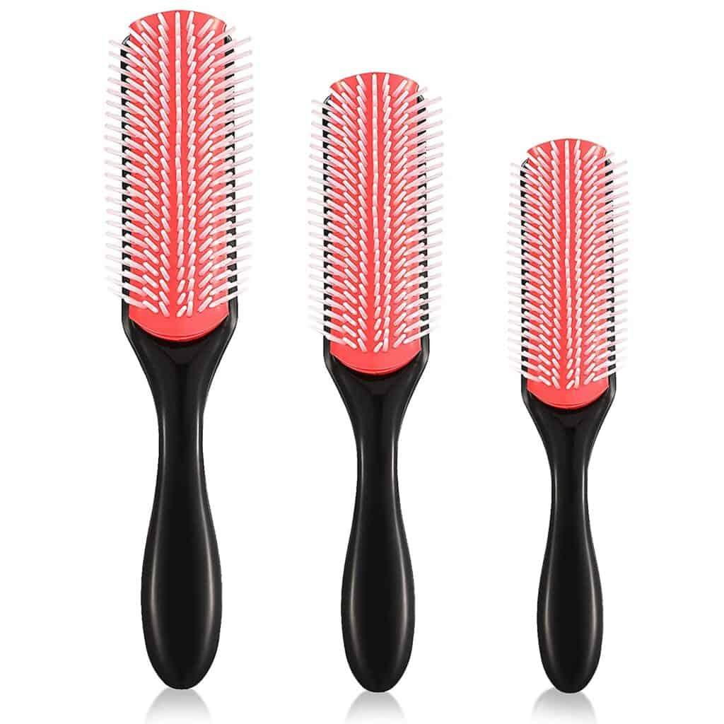 wet detangle shower brush