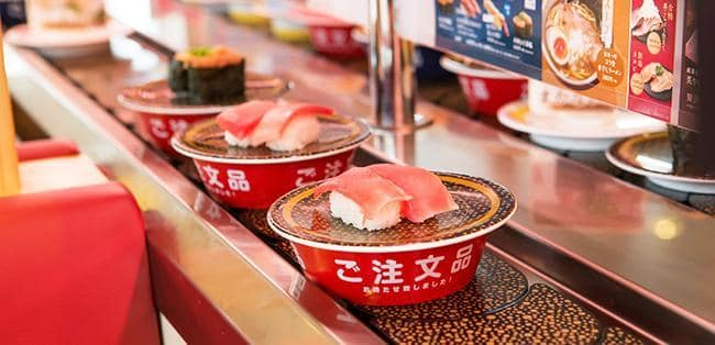 top conveyor belt sushi restaurants in tokyo 2021