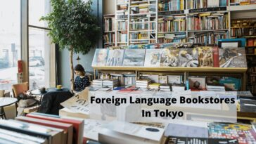 Foreign Language bookstores in Tokyo