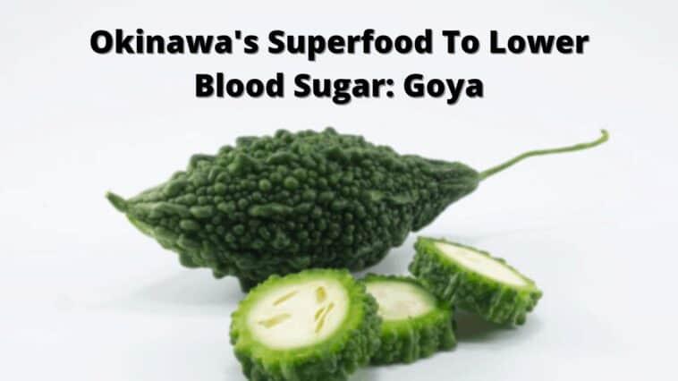 沖繩降血糖的超級食物_戈雅