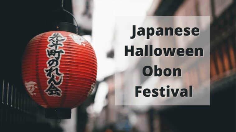 Japanese halloween Obon festival