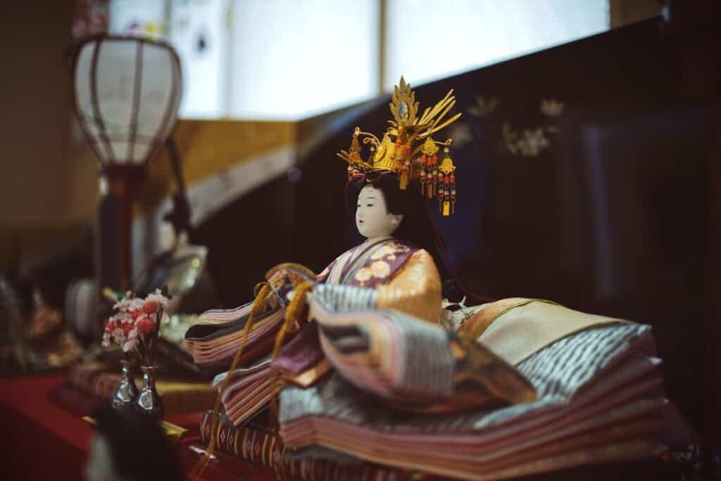 日本的女兒節女孩節慶祝活動