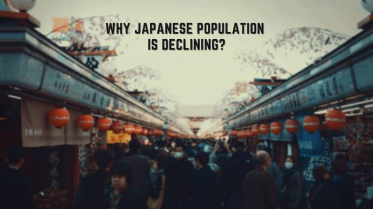 Why Japanese population is declining?
