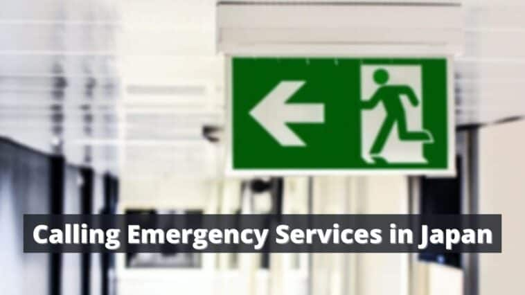 Calling Emergency Services in Japan