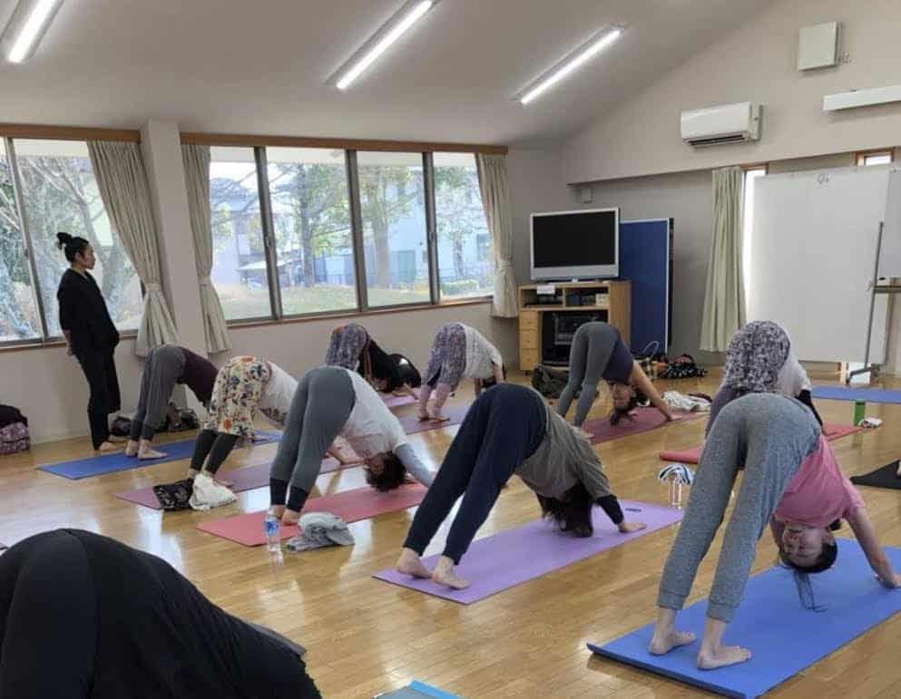 日本文化中的瑜伽