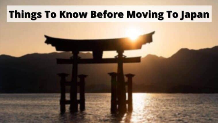 日本に移住する前に知っておくべきこと