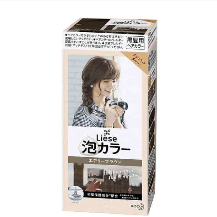 日本染髮劑不含漂白劑
