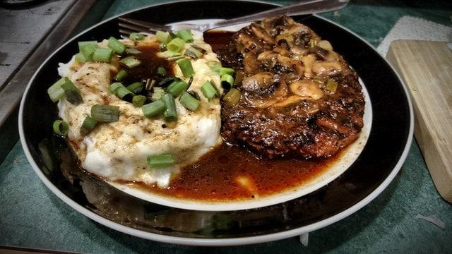 日本の食事と西洋の食事