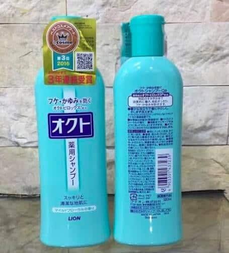 best Japanese anti dandruff shampoo