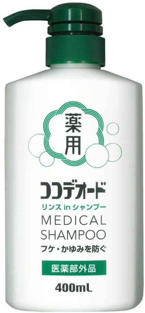 日本油性頭髮洗髮水