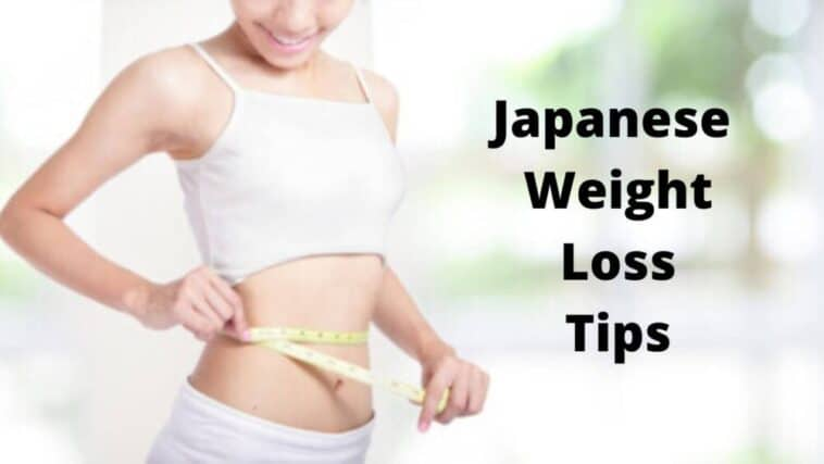 Japanese Weight Loss Tips
