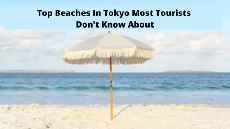 東京のトップビーチほとんどの観光客は知らない