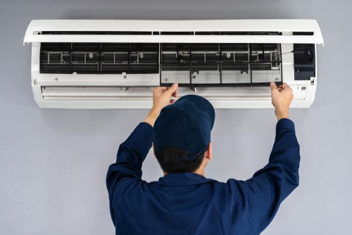 cleaning japanese air conditioner