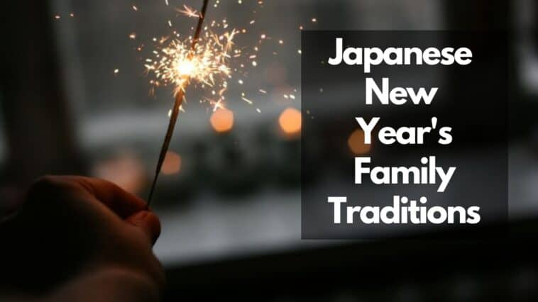 japanese new years family traditions