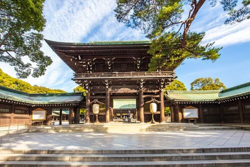 old shrines in japan