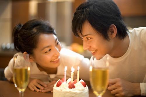 japanese couples birthday