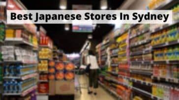 Best Japanese Stores In Sydney