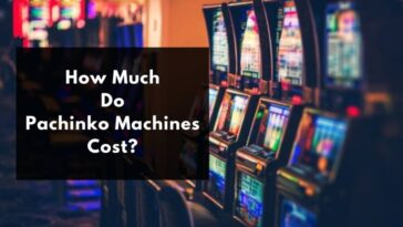 how much does a pachinko machine cost