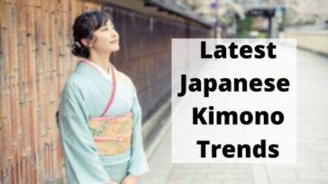 latest Japanese Kimono Trends