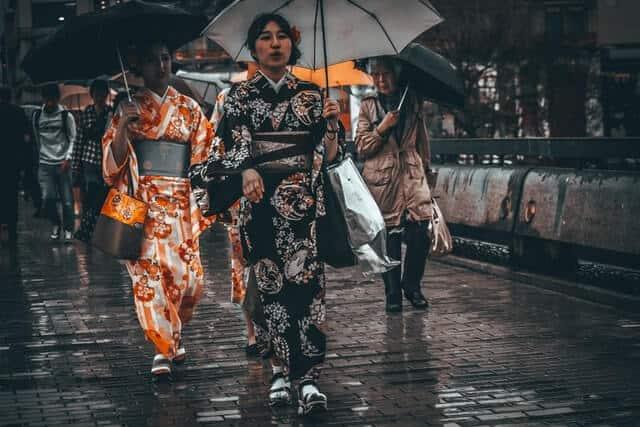 Modern Japanese Kimono Fashion