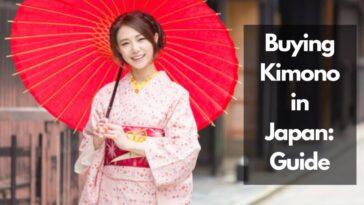 日本哪裡可以買到和服