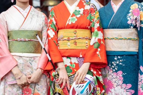 日本の伝統的な着物