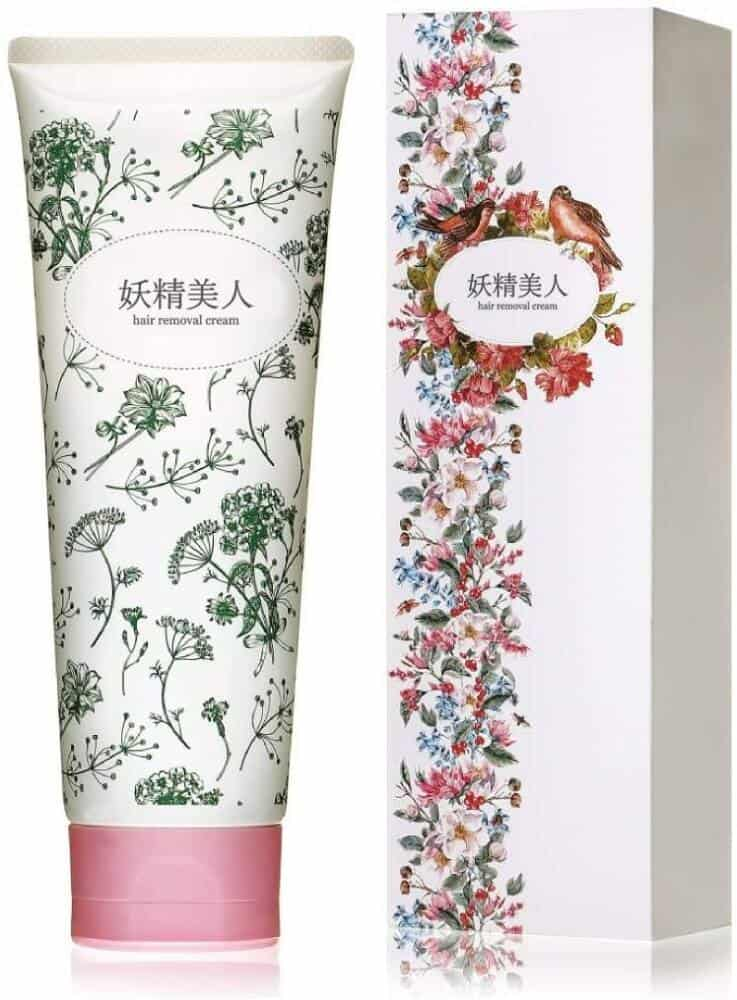 Japanese permanent hair removal cream