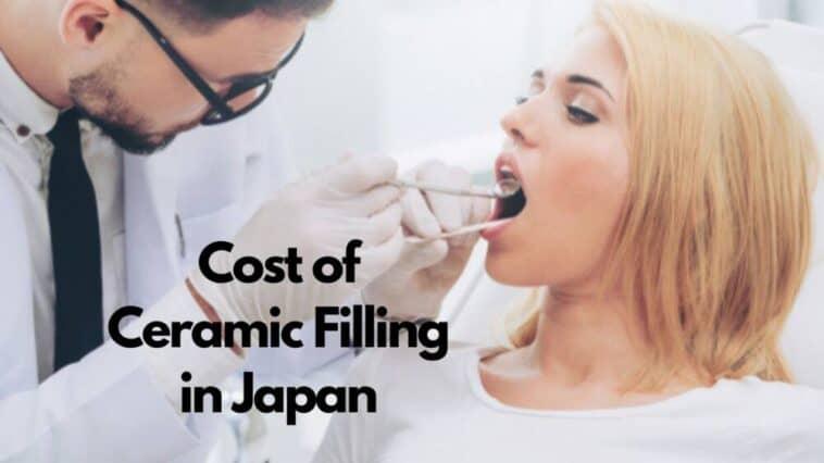 cost of ceramic filling in japan